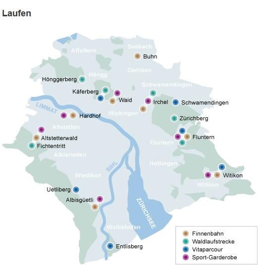 Los/las zuriqueses/as adoran el deporte – Vivir en Zúrich