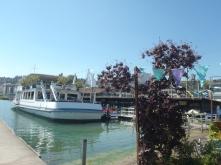 Restaurante en el barco