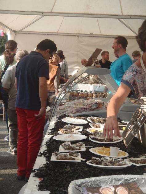 las muy apreciadas ostras