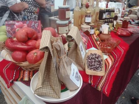 tomates, confituras, alubias