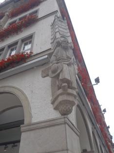 Detalle en fachada