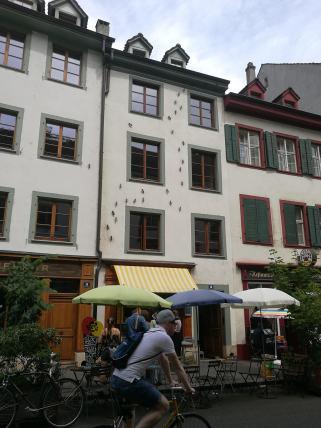 Fachada en Rheingasse